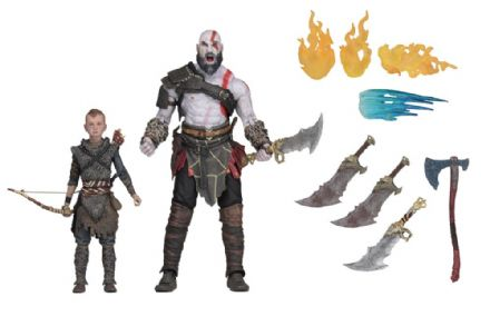 NECA God of War Ultimate Kratos and Atreus 2-pack